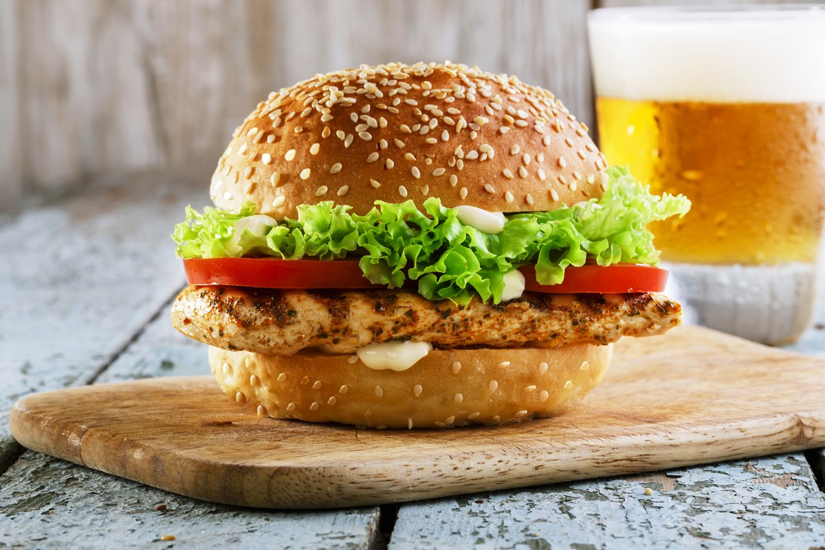 Grilled Chicken Sandwich Recipe: How to Make Grilled ...  |Recipes Grilled Chicken Subs