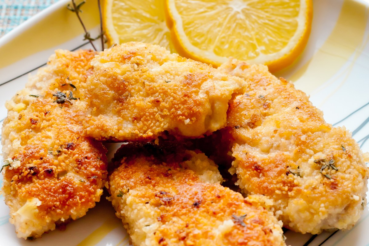 Parmesan Chicken Cutlets – Weight Watchers (4 Points)