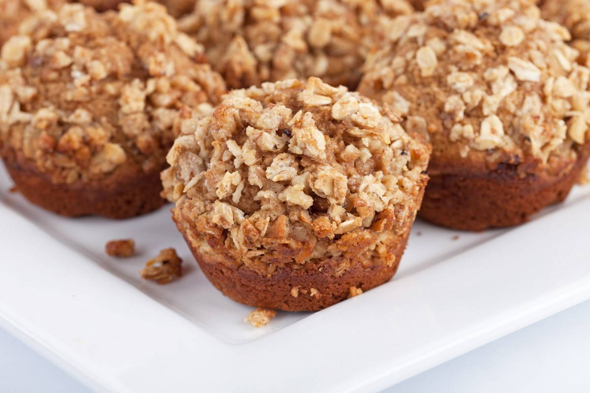 Whole Wheat Sweet Potato Muffins - KitchMe