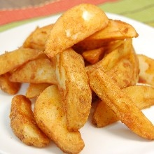 Baked Spicy French Fries (Weight Watchers)