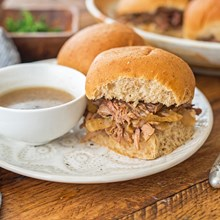 Crock Pot French Dip (Weight Watchers)