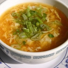 Egg Drop Soup with Chicken (Weight Watchers)