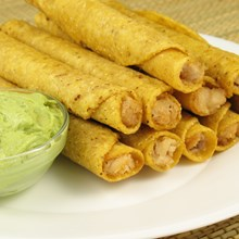 Baked Chicken and Cheese Taquitos (Weight Watchers)