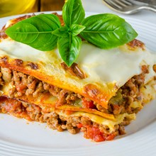 Lasagna with Meat Sauce (Weight Watchers)