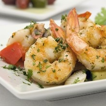 15 Minute Lemon and Herb Shrimp (Weight Watchers)