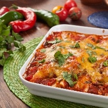 Chicken Taco Casserole (Weight Watchers)