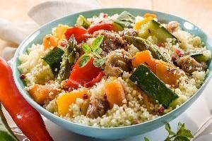 25-Minute Tunisian Vegetable Couscous