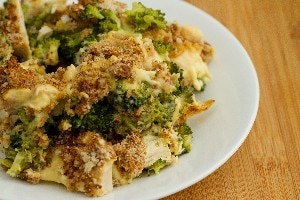 Cheesy mushroom and broccoli casserole kitchme chicken divan forumfinder Choice Image