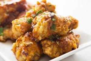 Double Crunch Honey Garlic Chicken Wings