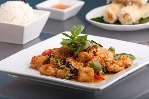 Breaded, Fried, Softly Spiced Tofu | KitchMe