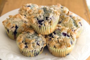 Vegan Blueberry Muffins | KitchMe