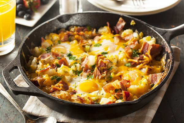 Skillet Turnips And Potatoes With Bacon Recipes — Dishmaps