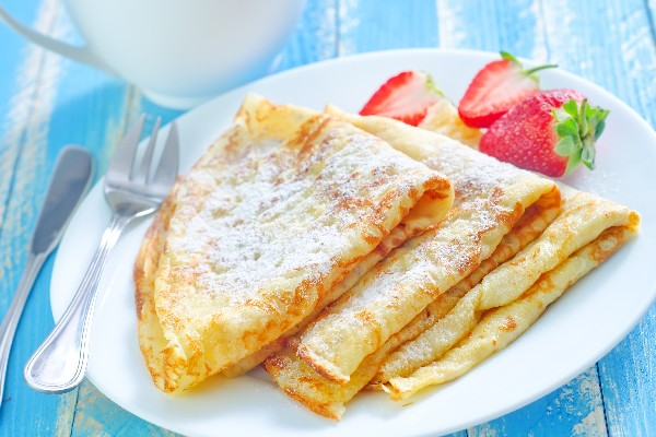 Ricetta crepes 8 crepes