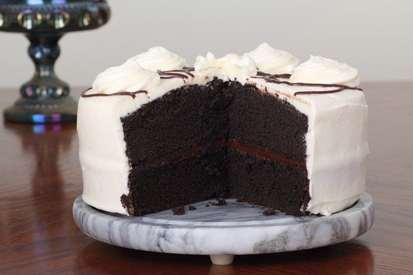 Devil S Food Cake With Chocolate Fudge Frosting Recipe: The Only Chocolate Cake Recipe You'll Ever Need! (Devil's