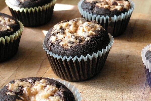 Black Bottom Cupcakes | KitchMe