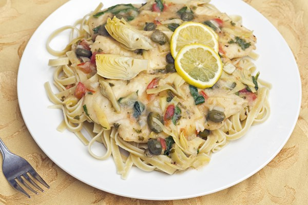 Chicken Piccata With Artichokes Kitchme