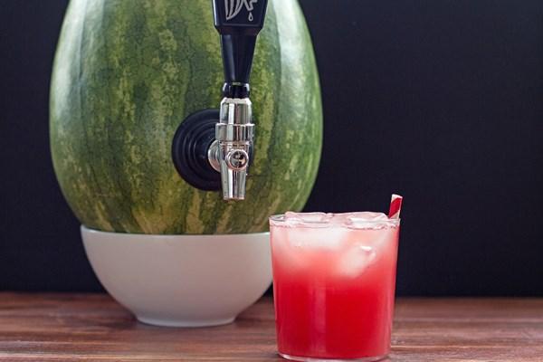 DIY Watermelon Cocktail Keg