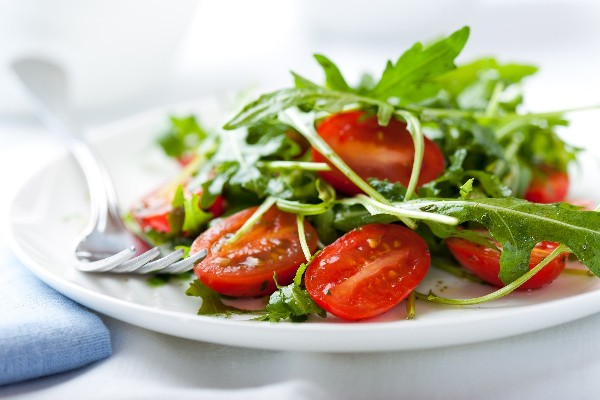 Image result for arugula cherry tomatoes goat cheese