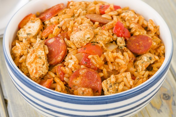 Easy cajun jambalaya kitchme easy cajun jambalaya forumfinder Image collections