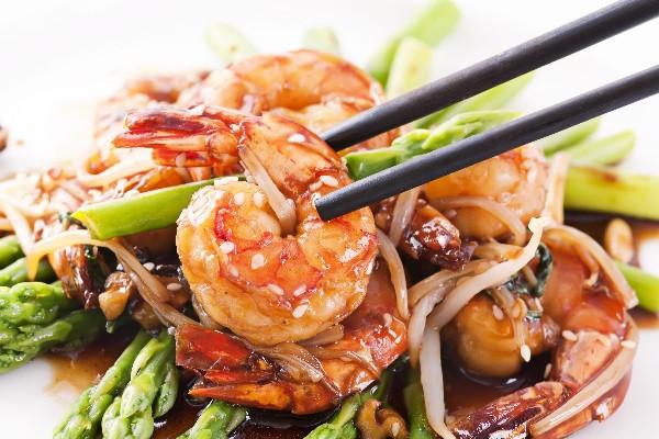 Garlic shrimp with asparagus kitchme for 400 sage japanese cuisine