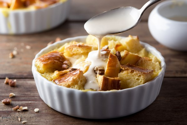 how to make homemade bread pudding