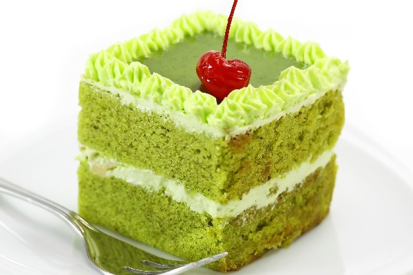 Green Tea White Chocolate Cake