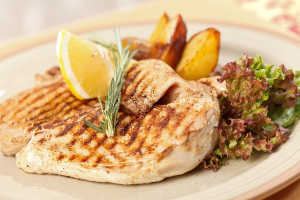 Grilled Lemon-Rosemary Chicken   KitchMe