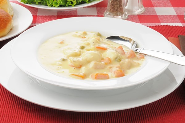 Homemade Creamy Chicken And Dumplings Soup Kitchme
