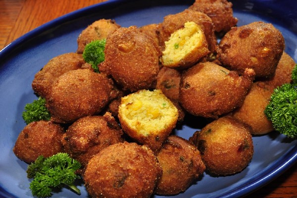 Hot And Spicy Hush Puppies Kitchme