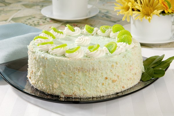 Key Lime Cake With Cream Cheese Frosting