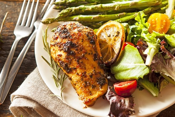 Low calorie lemon herb chicken kitchme low calorie lemon herb chicken forumfinder Choice Image