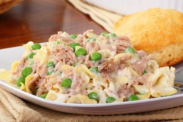 recipe: tuna alfredo with penne pasta [19]