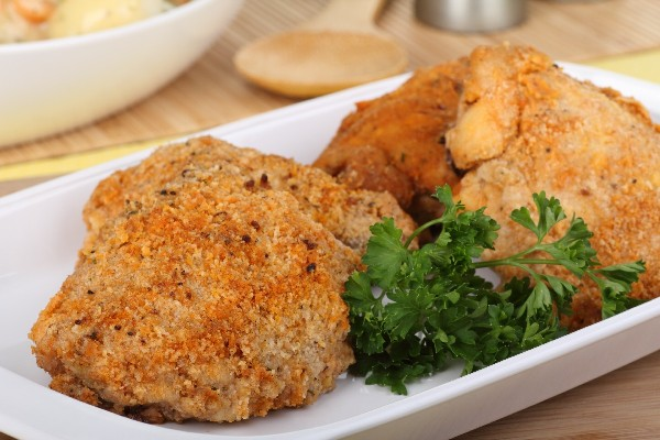 Orange Crumbed Baked Chicken Weight Watchers Kitchme
