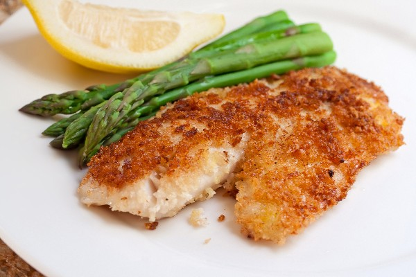 Parmesan crusted tilapia kitchme for Baked parmesan fish