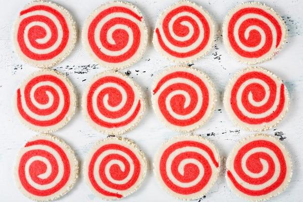 Pinwheel Swirl Sugar Cookies