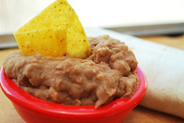 Refried Beans without the Refry | KitchMe