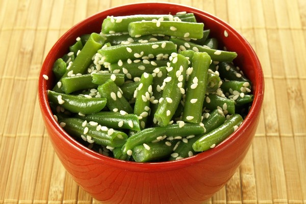Sesame Green Beans | KitchMe