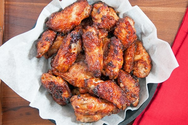 Skinny Grilled Buffalo Wings | KitchMe