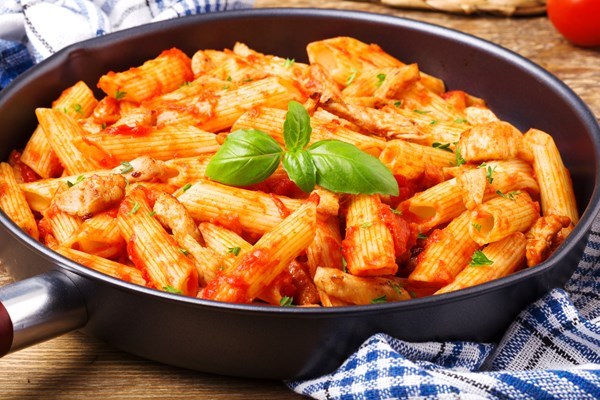 Skinny Italian Chicken And Pasta Skillet Kitchme