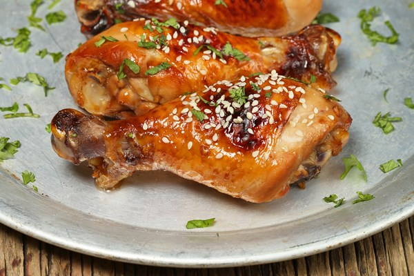 Sticky caramelized balsamic chicken drumsticks kitchme sticky caramelized balsamic chicken drumsticks forumfinder