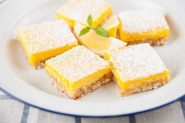 The Best Lemon Bars   KitchMe