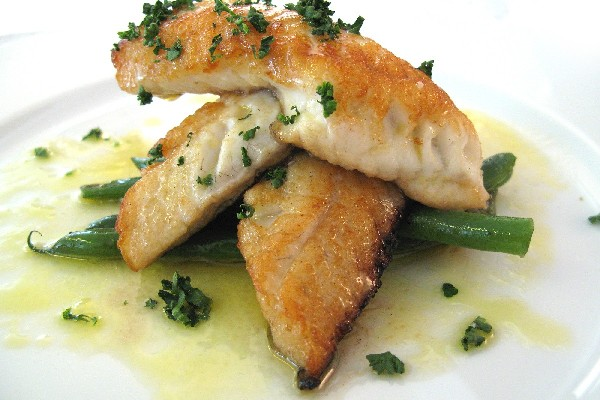 Tilapia with citrus bagna cauda kitchme