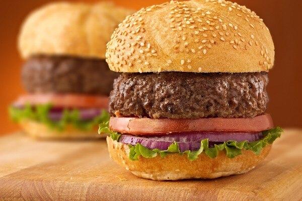 2 hamburgers