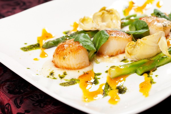 Ww Garlicky Lemon Scallops 4-Points