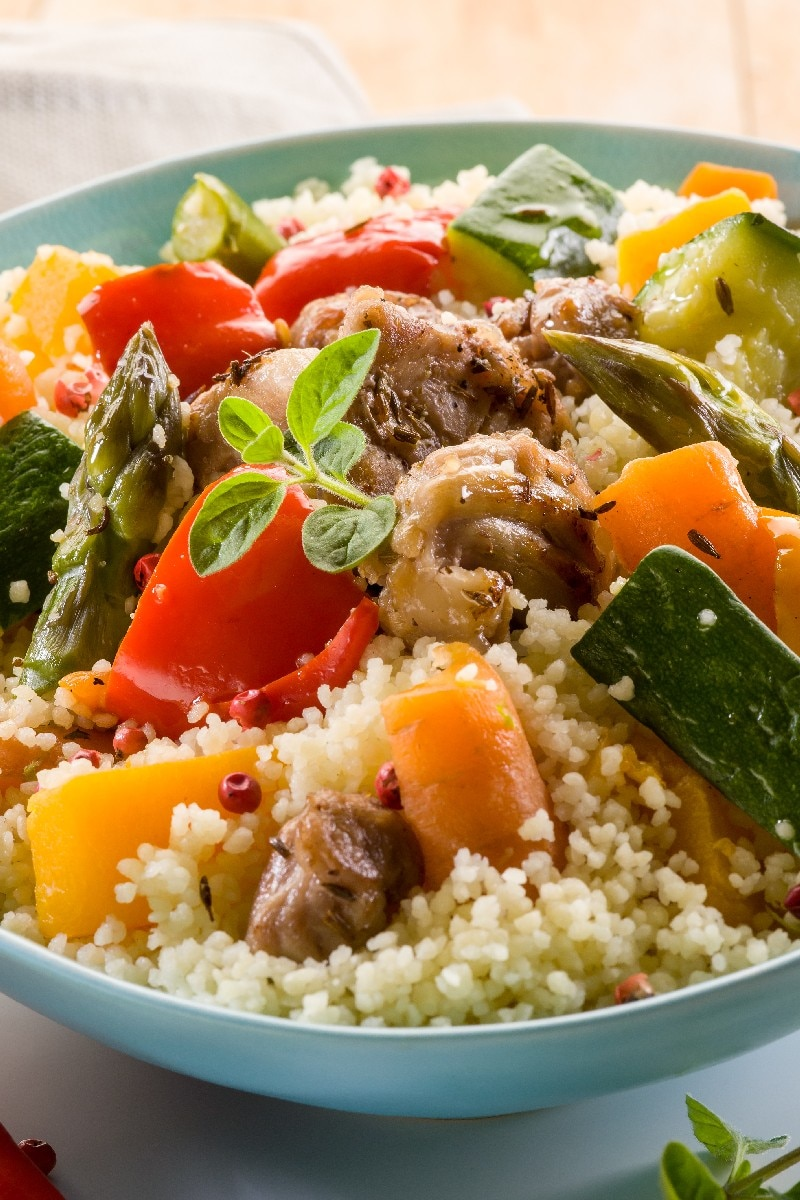 25-Minute Tunisian Vegetable Couscous Recipe — Dishmaps
