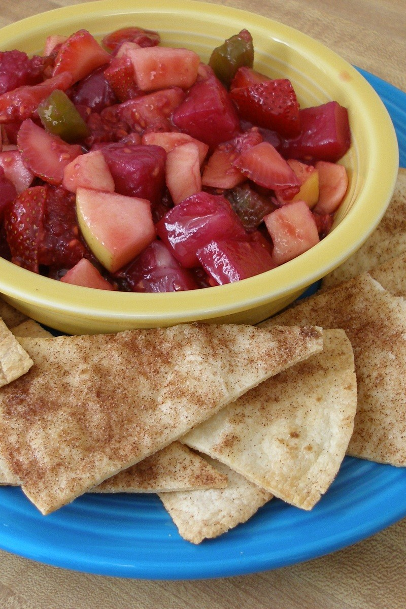 Annie's Fruit Salsa And Cinnamon Chips Recipes — Dishmaps