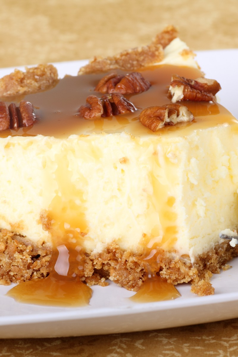 Aunt Peggy's Cheesecake with Praline Topping | KitchMe