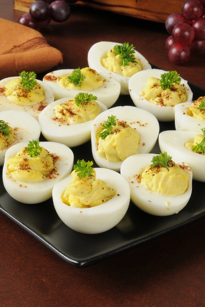 Bacon Balsamic Deviled Eggs | KitchMe