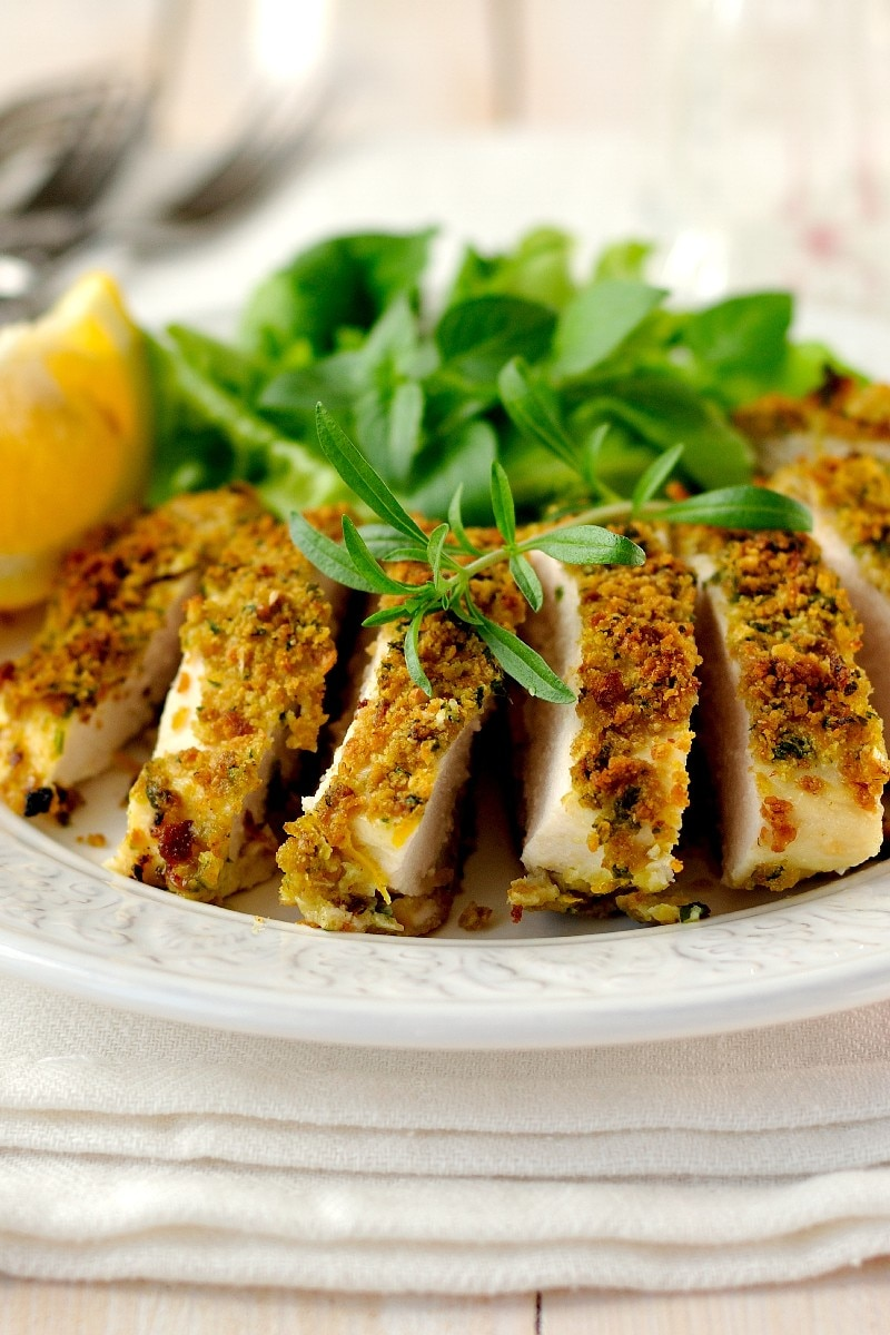 Parmesan Crusted Chicken Recipe Baked Parmesancrusted Chicken  Kitchme