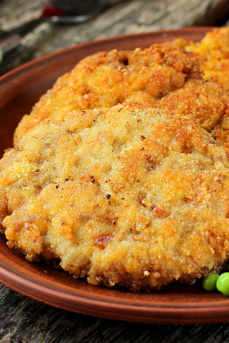 baked pork chops with buttery cracker crust kitchme